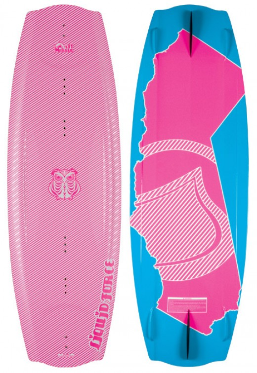 Melissa Marquardt designed the Melissa for Liquid Force Wakeboards.
