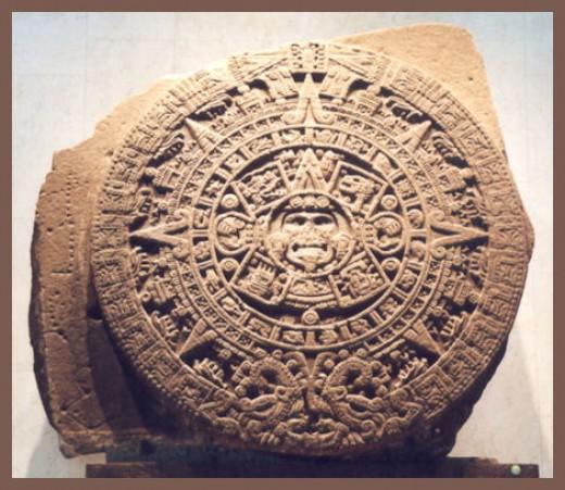 The Aztec Sun Stone Calendar