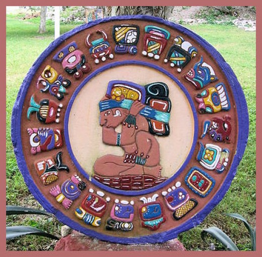 The Mayan Day Calendar (Not the three calendar combo)