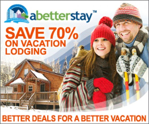 Search Fares Better Deals for a Better Vacation with two smiling faces