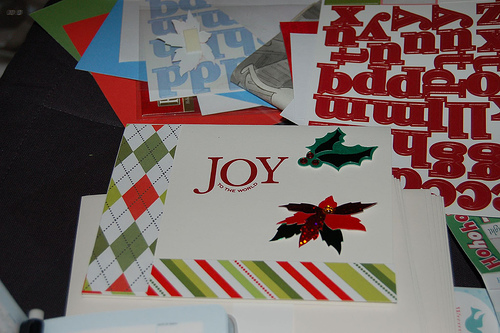 Use Christmas Card Kits to Make Your Own Homemade Christmas Cards