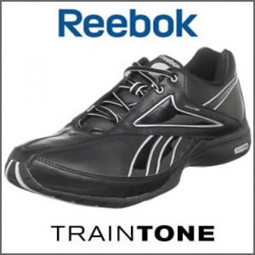 Reebok Traintone in Black Leather
