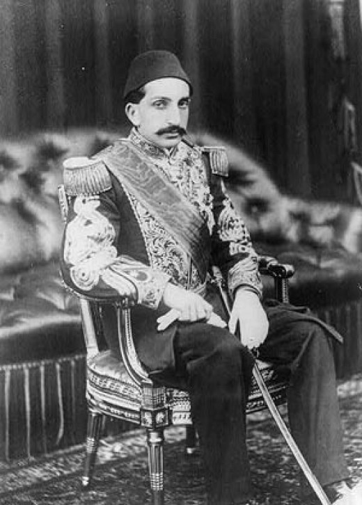 Abdulhamid the last Sultan of Turkey