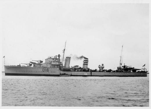 HMS Ivanhoe c1914