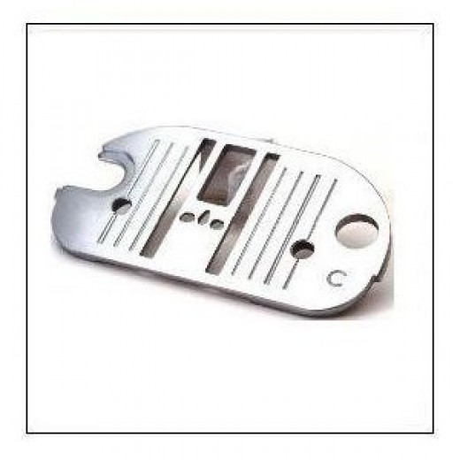 It's important to select the correct needle plate for your sewing machine.