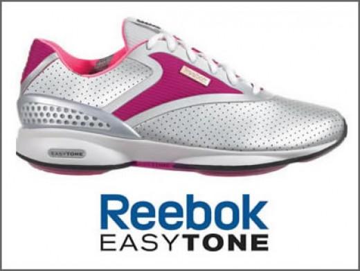 Reebok Easytone in White & Pink