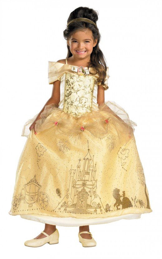 Princess Belle Kids Costume