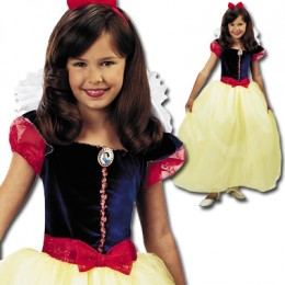 Snow White Dress Up Costume for Girls