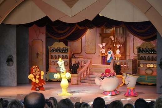 Although you have to deal with watching shows such as Beauty and the Beast Live on Stage!, you can stagger time between riding a few rides you want while shaving off wait times.