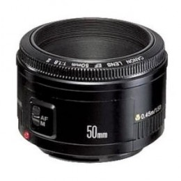 Cheap 50mm lens for Canon - f/1.8