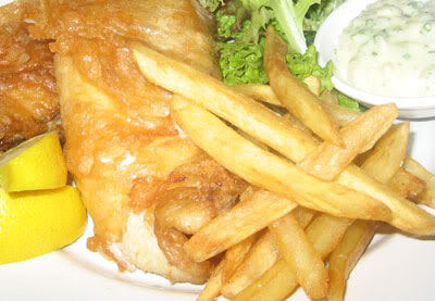 There is nothing as delicious as homemade fish and chips.