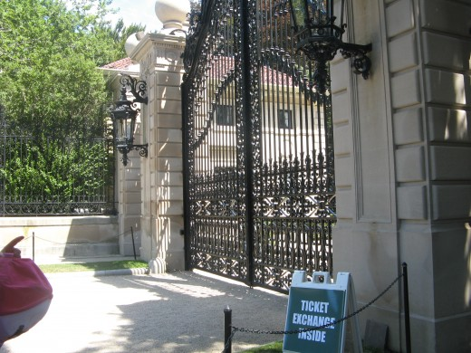 The Breakers - Front Gate