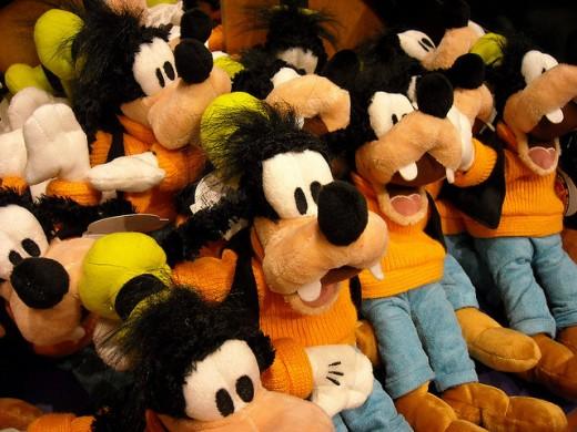 Disney Plush Toys.