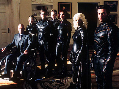 The cast of X-Men