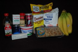 Just add eggs and all ingredients are present & accounted for!