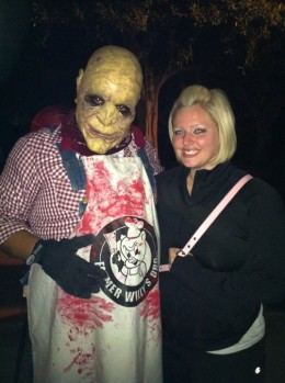 "Come face to face with monsters who will make you scream at Knott's ""Scary"" Farm."