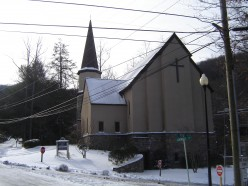 View of the Chapel in Winter