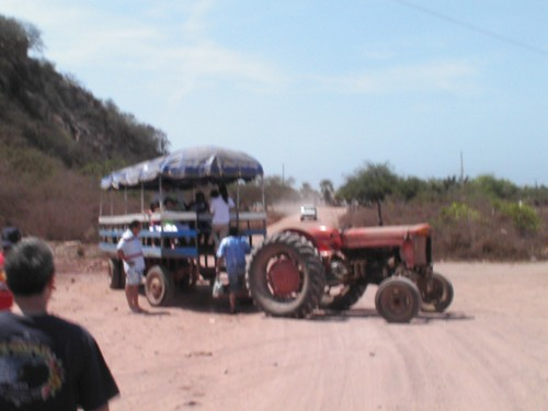 Stone Island tractor