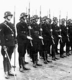 Hitler's S.S troops