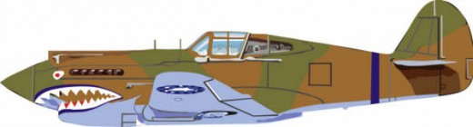 The P-40 Spann Watson flew