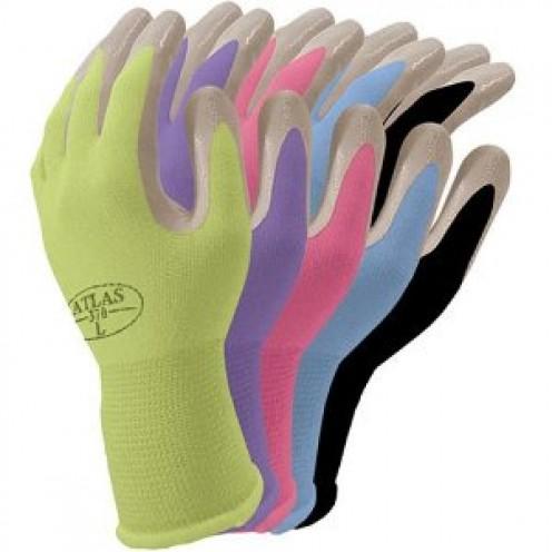 Nitrile gloves.
