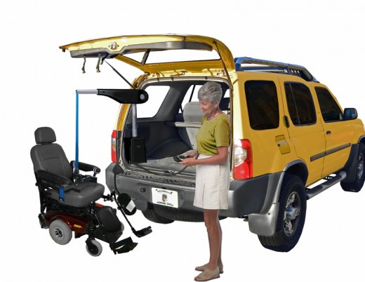 Internal Power Wheelchair Lift