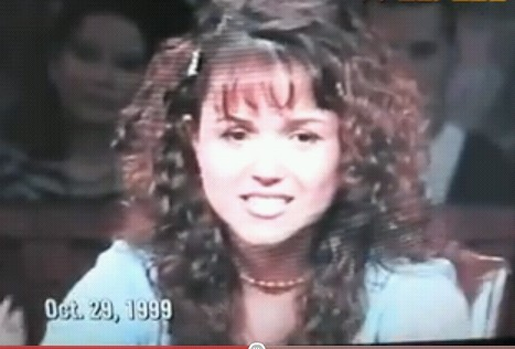 Still shot of Christine O'Donnell on Politically Incorrect Oct. 29, 1999