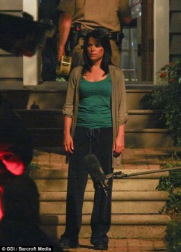 Filming of Scream 4