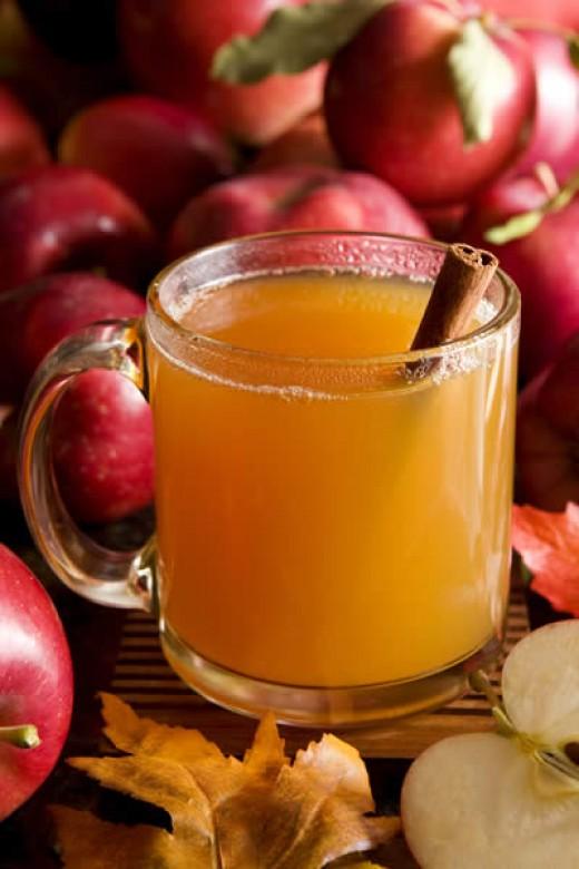 Hot Spiced Apple Drink Recipe