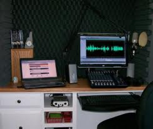 Today's Home Recording And Voice-Over Studio