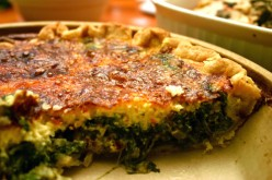 Simple Spinach Quiche Recipe