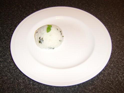 Basil and Garlic Rice