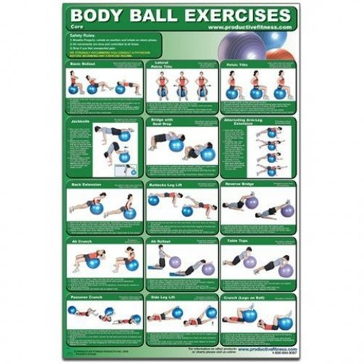 Body Ball Exercise Chart