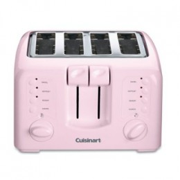 The Cuisinart pink toaster. A portion of proceeds goes to breast cancer research.