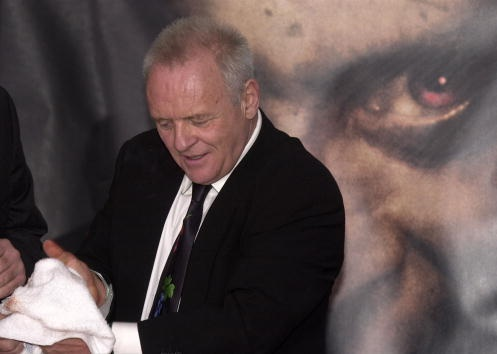 Anthony Hopkins creates suspense all on his own.