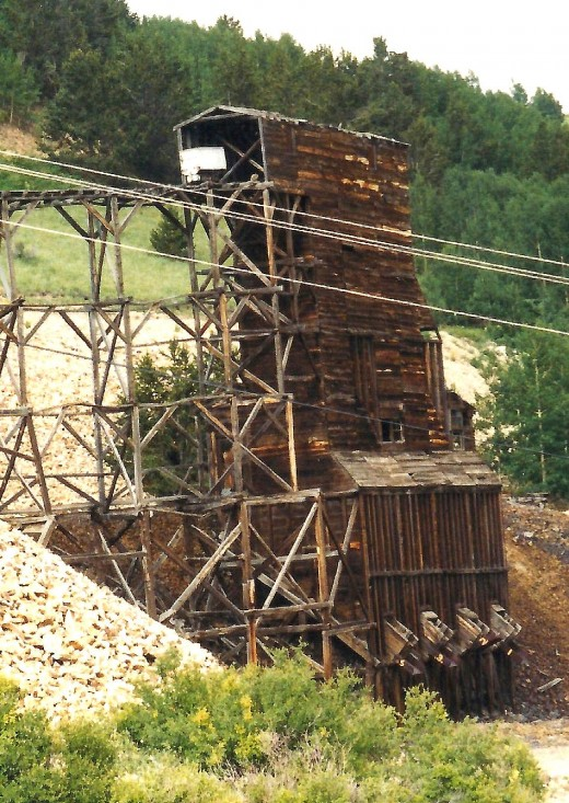 Gold Mine in Cripple Creek