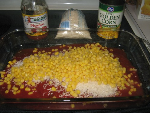Add 1 can of corn drained.