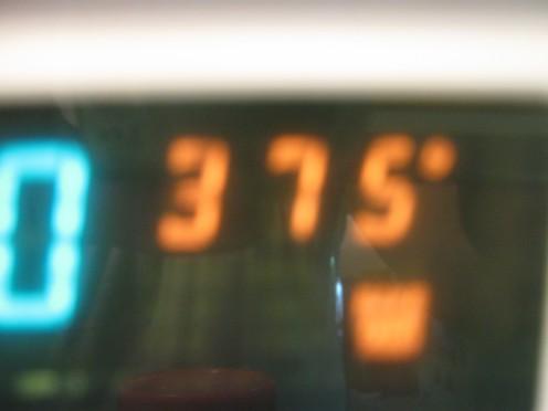 Preheat oven to 375
