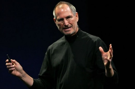 Steve Jobs is well-known for using a lavalier system.