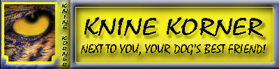 SHopping is FUN and EASY with Knine Korner!