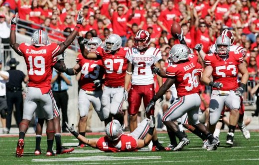 Ohio State destroyed Indiana 38-10 in week 6