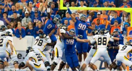 Boise State had its way with Toldeo 57-14 last Saturday.