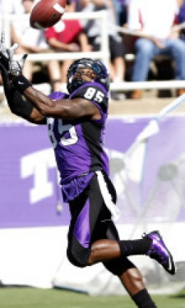 TCU pitched a shutout against Wyoming 45-0 at home last week.