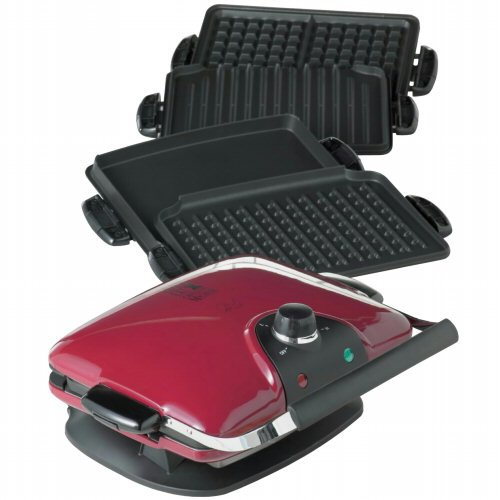 With this George Foreman Grill you can cook everything from a great hamburger to a waffle. If you want to cook various items with your George Foreman Grill then this just may be the perfect George Foreman Grill for you.