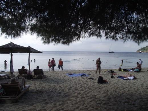 Koukounaries beach - one of the world's 10 most beautiful beaches