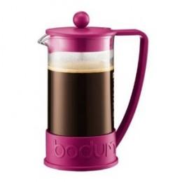 Pink Bodum French Press Coffee Maker