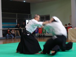 Calmness in the practice of Aikido