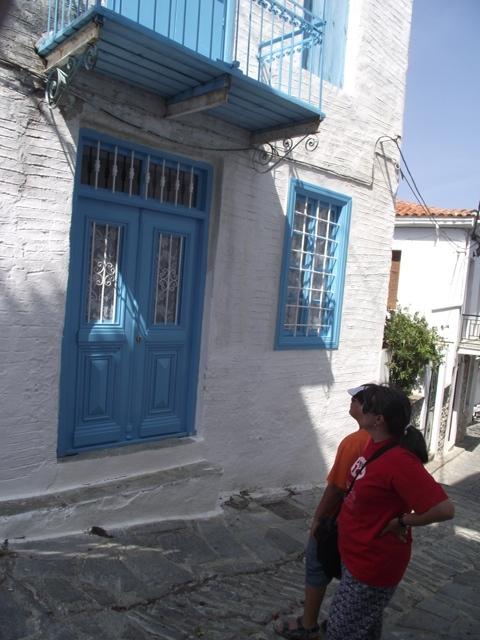 Skiathos - White & Blue