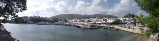 Skiathos - town