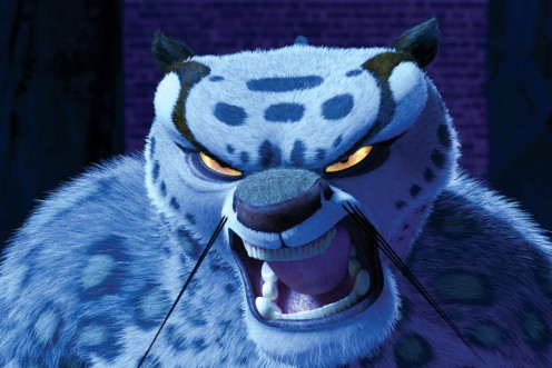 The evil Kai Lung in Kung Fu Panda
